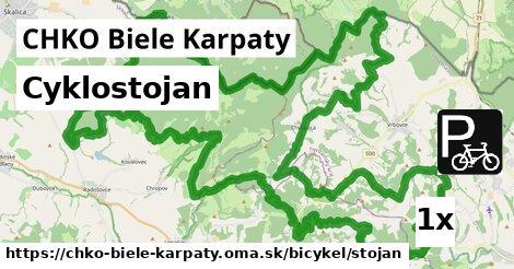 ilustračný obrázok k Cyklostojan, CHKO Biele Karpaty