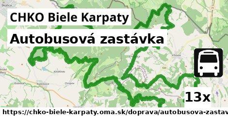 ilustračný obrázok k Autobusová zastávka, CHKO Biele Karpaty