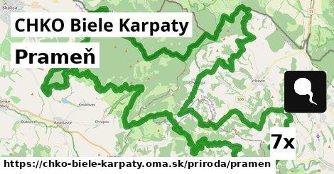 ilustračný obrázok k Prameň, CHKO Biele Karpaty