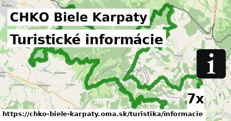 ilustračný obrázok k Turistické informácie, CHKO Biele Karpaty