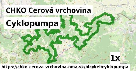 ilustračný obrázok k Cyklopumpa, CHKO Cerová vrchovina