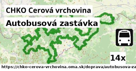 ilustračný obrázok k Autobusová zastávka, CHKO Cerová vrchovina