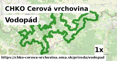 ilustračný obrázok k Vodopád, CHKO Cerová vrchovina