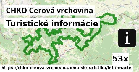 ilustračný obrázok k Turistické informácie, CHKO Cerová vrchovina