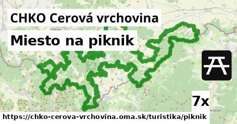 ilustračný obrázok k Miesto na piknik, CHKO Cerová vrchovina