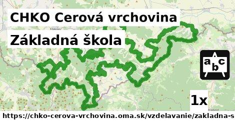 ilustračný obrázok k Základná škola, CHKO Cerová vrchovina