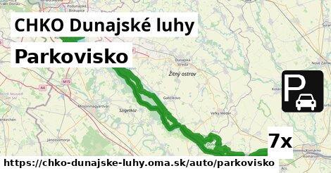 ilustračný obrázok k Parkovisko, CHKO Dunajské luhy