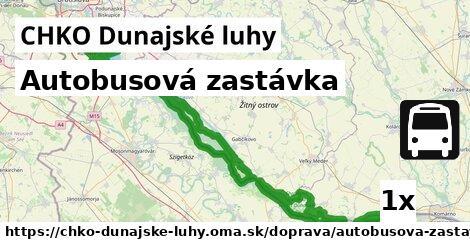 ilustračný obrázok k Autobusová zastávka, CHKO Dunajské luhy