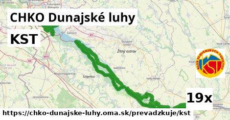 KST v CHKO Dunajské luhy