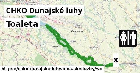 ilustračný obrázok k Toaleta, CHKO Dunajské luhy