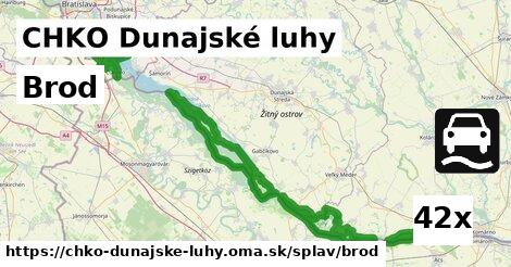ilustračný obrázok k Brod, CHKO Dunajské luhy