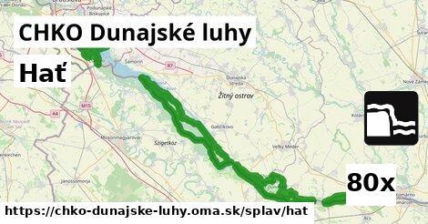 hať v CHKO Dunajské luhy
