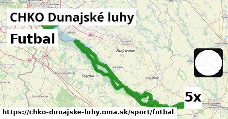 ilustračný obrázok k Futbal, CHKO Dunajské luhy
