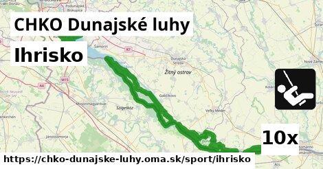 ilustračný obrázok k Ihrisko, CHKO Dunajské luhy