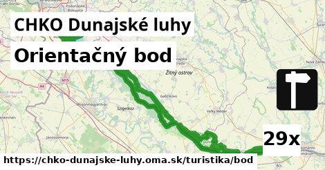 orientačný bod v CHKO Dunajské luhy