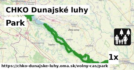 ilustračný obrázok k Park, CHKO Dunajské luhy