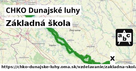 ilustračný obrázok k Základná škola, CHKO Dunajské luhy