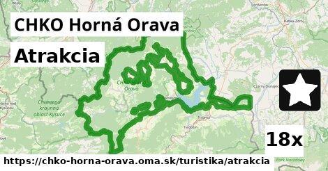ilustračný obrázok k Atrakcia, CHKO Horná Orava