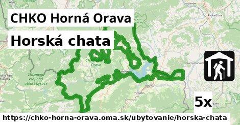 ilustračný obrázok k Horská chata, CHKO Horná Orava