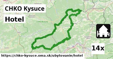 hotel v CHKO Kysuce