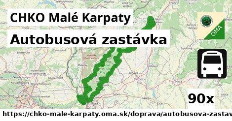 ilustračný obrázok k Autobusová zastávka, CHKO Malé Karpaty