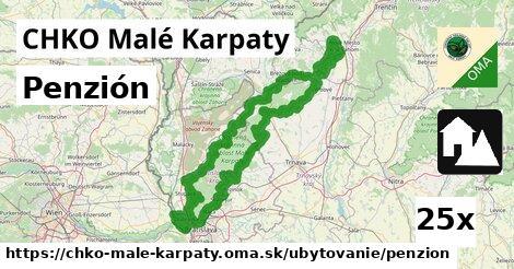 ilustračný obrázok k Penzión, CHKO Malé Karpaty