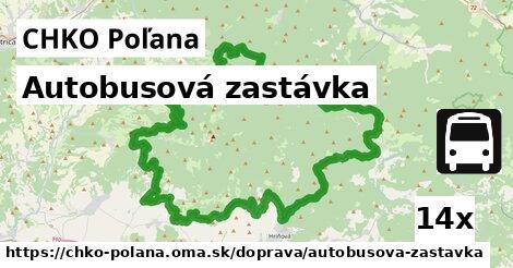 ilustračný obrázok k Autobusová zastávka, CHKO Poľana