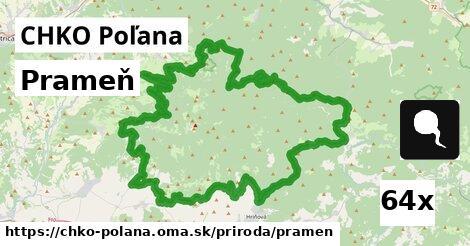 ilustračný obrázok k Prameň, CHKO Poľana