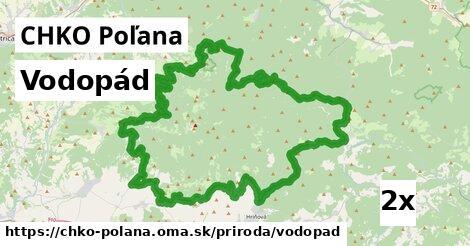 ilustračný obrázok k Vodopád, CHKO Poľana