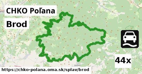 ilustračný obrázok k Brod, CHKO Poľana