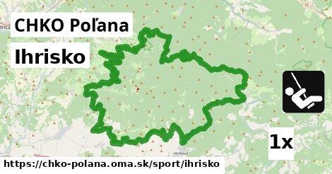ilustračný obrázok k Ihrisko, CHKO Poľana