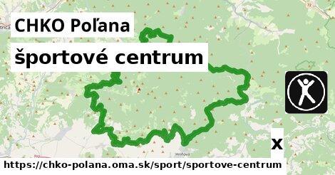 ilustračný obrázok k športové centrum, CHKO Poľana