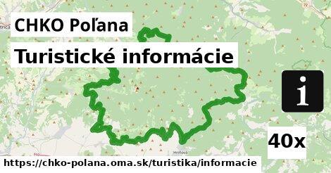 ilustračný obrázok k Turistické informácie, CHKO Poľana
