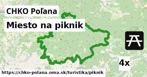 ilustračný obrázok k Miesto na piknik, CHKO Poľana