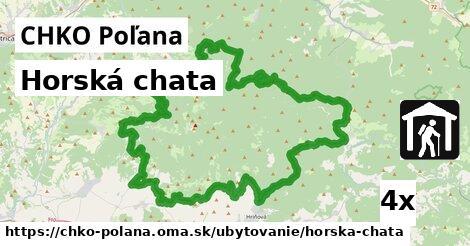 ilustračný obrázok k Horská chata, CHKO Poľana