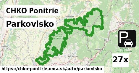 ilustračný obrázok k Parkovisko, CHKO Ponitrie