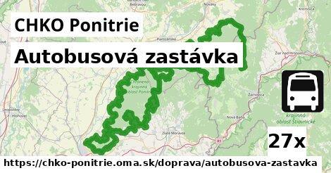 ilustračný obrázok k Autobusová zastávka, CHKO Ponitrie