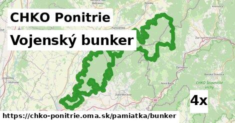 ilustračný obrázok k Vojenský bunker, CHKO Ponitrie
