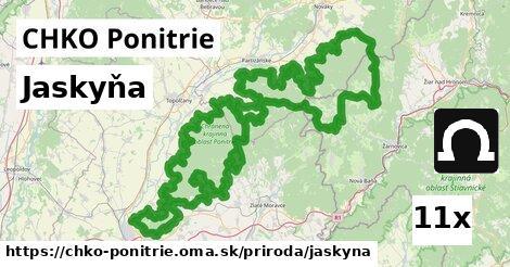 ilustračný obrázok k Jaskyňa, CHKO Ponitrie