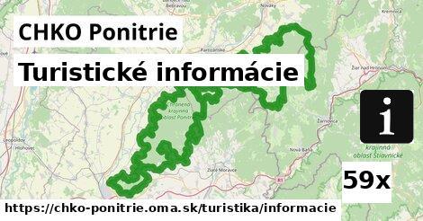 ilustračný obrázok k Turistické informácie, CHKO Ponitrie