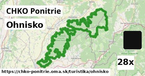ilustračný obrázok k Ohnisko, CHKO Ponitrie