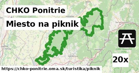 ilustračný obrázok k Miesto na piknik, CHKO Ponitrie