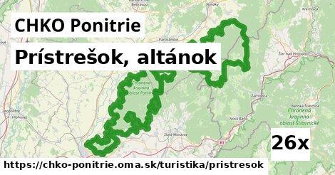 ilustračný obrázok k Prístrešok, altánok, CHKO Ponitrie