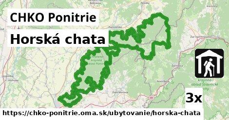 ilustračný obrázok k Horská chata, CHKO Ponitrie