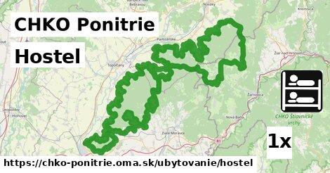 ilustračný obrázok k Hostel, CHKO Ponitrie