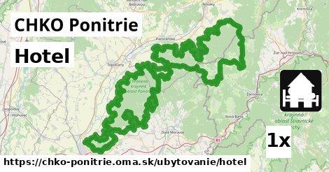 ilustračný obrázok k Hotel, CHKO Ponitrie