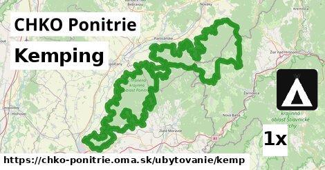 ilustračný obrázok k Kemping, CHKO Ponitrie