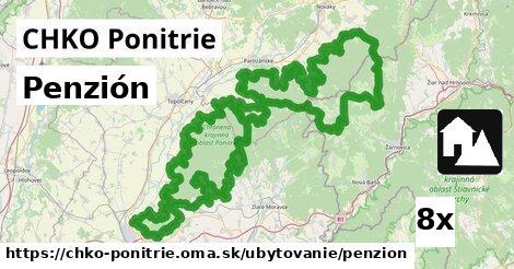 ilustračný obrázok k Penzión, CHKO Ponitrie