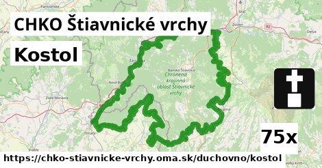 ilustračný obrázok k Kostol, CHKO Štiavnické vrchy