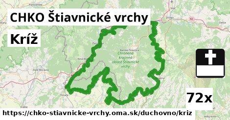 ilustračný obrázok k Kríž, CHKO Štiavnické vrchy